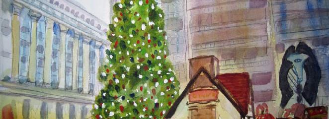 Daley Plaza Christmas Tree