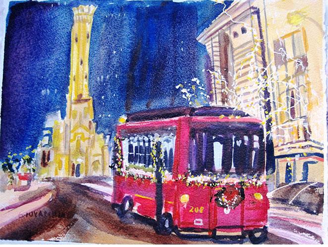 Trolley Ride Mag Mile